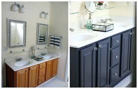 Oak Bathroom Vanity Unit Bathroom Oak Cabinets Peachy Oak Bathroom Cabinets Makeover Solid