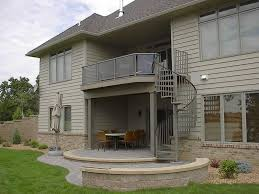 outdoor wooden spiral staircase loccie better homes gardens ideas