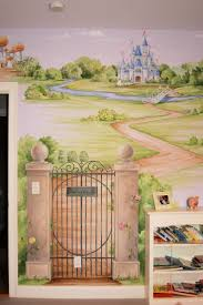 best 25 princess mural ideas on pinterest rapunzel room castle nice landscaping of castle kids bedroom wall murals paint ideas