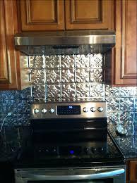 kitchen metal backsplash tiles backsplash ideas for kitchen using metal tile backsplash