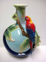 Pin By G Swan On Marks Id Pinterest Porcelain And Bohemian Blue Winged Parrot Vase Franz Porcelain 2758 Ebay 17 Franz