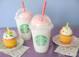 birthday drink starbucks birthday cake frappuccino we tried it u2014 is it worth it