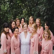 Wedding Dressing Lacie Bridal Wedding Dressing Gown By The Little Lovebird