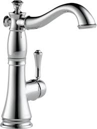 kitchen faucets white delta cassidy single handle deck mounted bar kitchen faucet