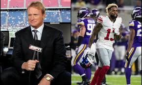jon gruden wants the giants to bench odell beckham jr u0027he u0027s got