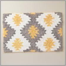 yellow bath rug runner rugs home decorating ideas hash