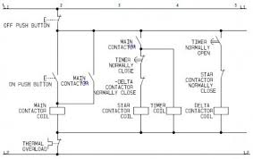 using star delta motor control with circuit diagrams turbofuture