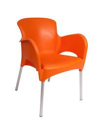 Orange Armchair Lola