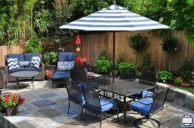 Buy Patio Umbrella by Pagoda 85 Ft Striped Sunbrella Patio Striped Patio Umbrella