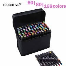 aliexpress com buy touchfive marker 60 80 168 color alcoholic