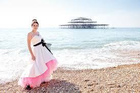 pink white and black wedding dress u2013 www etsy com shop
