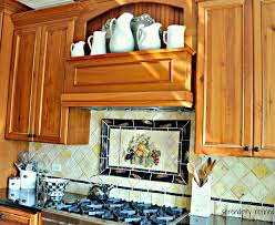 Hand Painted Tiles For Kitchen Backsplash Serendipity Refined Blog August 2013