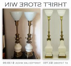 thrift store win vintage stiffel lamps and a word on diffuser