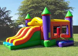 bouncy house rentals party rental miami combo units combo slide