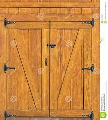 Swing Door Hinges Interior Barn Door Background Rural Building Plank Doors Black Hinges Would