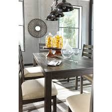 contemporary 7 piece dining room table set by signature design by