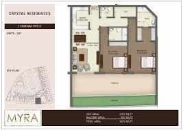 Residence Floor Plans Floor Plans Crystal Residences Jumeirah Village Circle By Myra