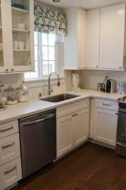Kitchen Shades Diy Roman Shade For My Kitchen U2014 Chic Little House