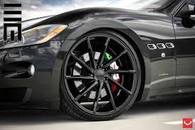 maserati granturismo 2015 black vossen wheels maserati gran turismo vossen cvt