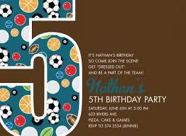 fifth birthday party invitation wording stephenanuno com