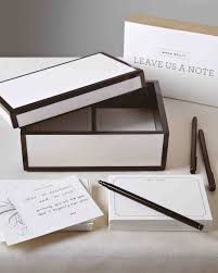 Wedding Wishes Envelope Guest Book A Glamorous Black And White Wedding In Kentucky Martha Stewart