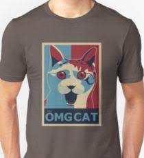Omg Cat Meme - omg cat meme gifts merchandise redbubble