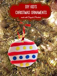 diy kid s ornaments made with crayola and a great