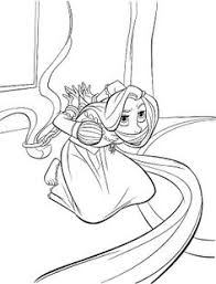 printable free disney princess rapunzel coloring sheets kids