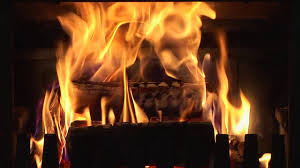living fireplace video