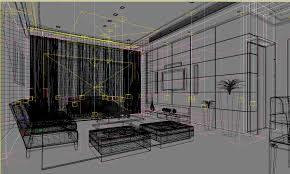 Livingroom Theater Posh Living Room Interior With Home Theater 3d Model Max Cgtrader