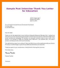 14 thank you letters for teacher interviews informal letters