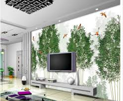 online get cheap abstract wall murals aliexpress com alibaba group 3d wall murals abstract bamboo forest tree bird oriole tv wall wallpaper 3d modern home decoration