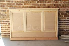 How To Build A Bed Frame And Headboard Diy Bed Frame Home Improvement The Home Depot
