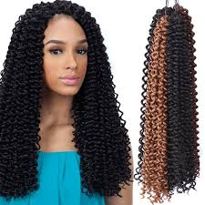 crochet weave with deep wave hairstyles for women over 50 crochet braiding hair 18 20 inch curly hair weaves deep weave