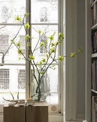 Using Branches In Home Decor by Winter Flower Arrangements Martha Stewart