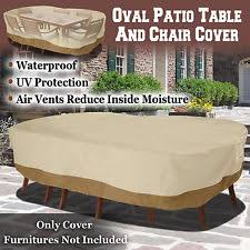 Outdoor Furniture Covers For Winter by Patio Table Outdoor Furniture Covers Ebay