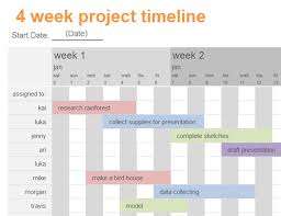 project presentation template word project timeline with