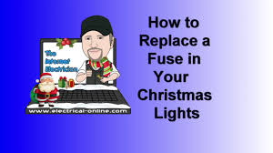 how to change fuse in christmas lights how to replace a fuse in your christmas lights youtube