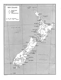 Blank 50 States Map New Zealand Maps Perry Castañeda Map Collection Ut Library Online