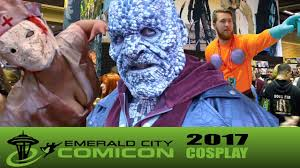 emerald city halloween costume eccc 2017 cosplay youtube