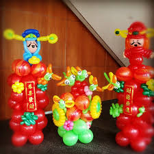 New Year Balloon Decorations by Chinese New Year Balloon Decorations That Balloons