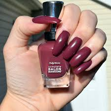 review prabal gurung for sally hansen nail polish in leaf peeper