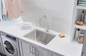 Sink For Laundry Room Blanco Quatrus Dual Mount Laundry Sink Blanco