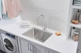 blanco quatrus dual mount laundry sink blanco