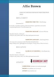 resume format 2017 16 free to download word templates resume