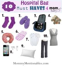 10 Must Bag Essentials What by 10 Hospital Bag Must S For And Babyis Hospital Bag