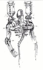 sketch of a robot by designer spencer nugent 테크 pinterest