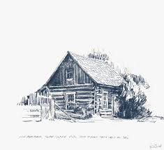 peter ewart sketches historic buildings of the cariboo
