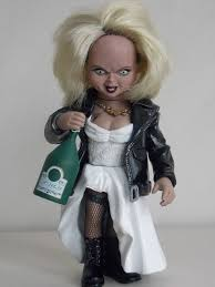 Tiffany Halloween Costume Chucky Die Mörderpuppe Tiffany Bride Chucky Fertig Modell