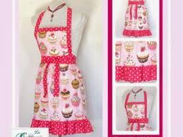 deux tabliers de cuisine modèle rébecca et cupcakes par du 12